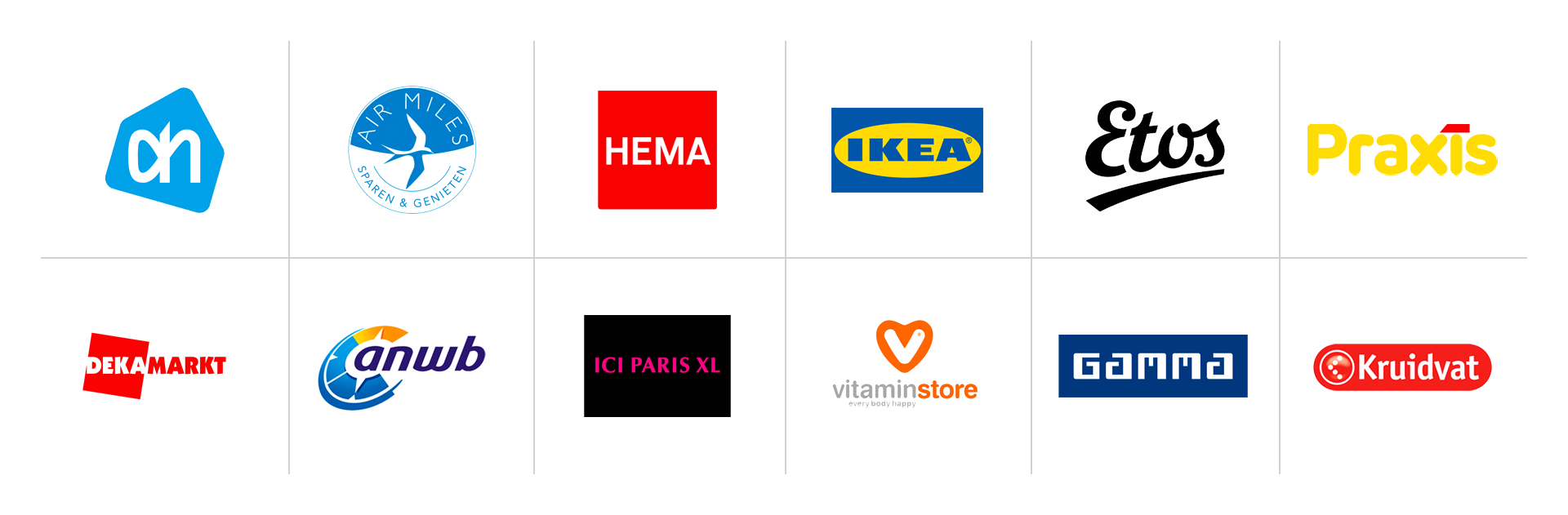 OK-app klantenkaarten